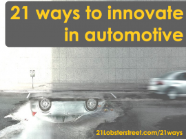 21 ways to innovate in automotive